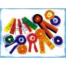 Fest- oder Bandabzeichen (100er Paket) Größe 30x110mm
