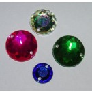 Acryl-Steine zum Aufnähen, 8mm