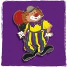"""Karnevalsorden / Kinderorden """"Clown mit Luftballon"""" RESTPOSTEN 46 Stück"""