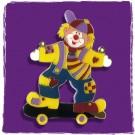 "Karnevalsorden / Kinderorden ""Clown mit Skateboard"""