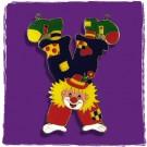 """Karnevalsorden / Kinderorden """"Clown im Handstand"""""""