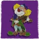 """Pin """"Clown mit Geige"""" - AUSVERKAUF"""
