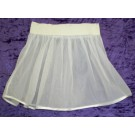 Bremoda Tüll-Petticoat, 1-stufig, 1-lagig, weiß, Einfass weiß