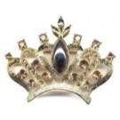 """Brosche """"Krone"""" - Sonderangebot bei Abnahme Reststückzahl 48 Stück € 165,--"""